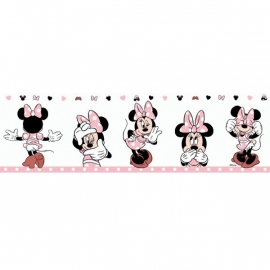 minnie mouse behangrand Rasch Disney Deco 3502-3