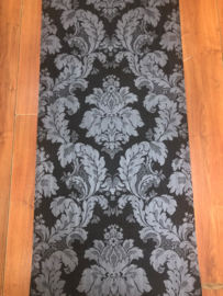 Zwart Barok Behang 70034