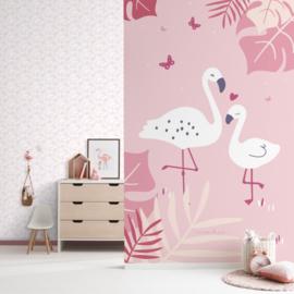 Behang Expresse Sweet Dreams Wallprint Flamingo ND21150