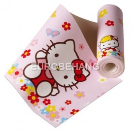 hello kitty behangrand disney band meisjes kinderen baby