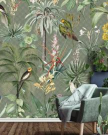 Behangexpresse Floral Utopia Fotobehang INK7557