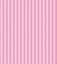 Dutch Disney Minnie Mouse & daisy pink stripe behang WPD 9747