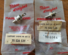 NOS set of two diodes