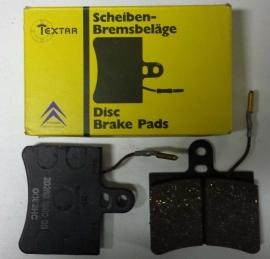 Brake pad set front NOS