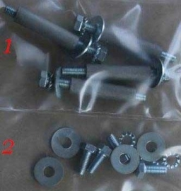 Mounting kit for condensor housings