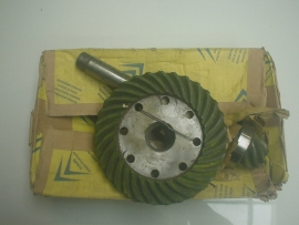 Crown and pinion gear, NOS