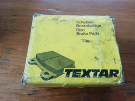 Brake pad set, OEM Textar