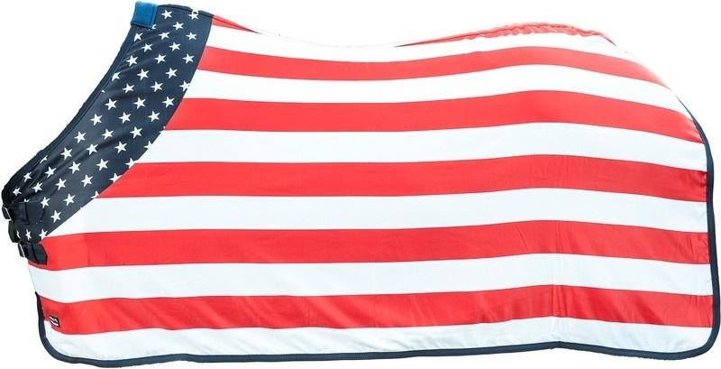 Deken Amerikaanse Vlag.Flag Usa Het Paardenhuis