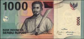 Indonesië P141 1.000 Rupiah model 2000