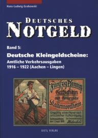 Duitsland Band 5+6 Deutsche Kleingedlscheine: Amtliche Verkehrsausgaben 1916-1922