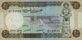 Syrië P103.b 50 Pounds 1978
