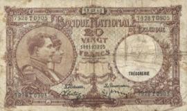 België P111.a 20 Francs Model 1919