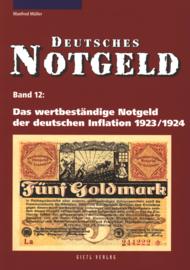 Duitsland Band 12 Das wertbeständige Notgeld der deutschen Inflation 1923/1924
