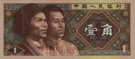 China P881.b 1 Jiao 1980