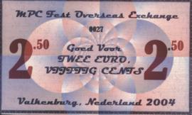 MPC Fest Overseas Exchange V/2004 2,5.- 2½ Euro 2004