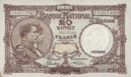 België P111.b 20 Francs Model 1919