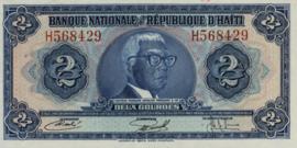 Haïti P211 2 Gourdes 1973 (No date, L.1973)