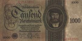 Duitsland P179 1.000 Reichsmark 1924