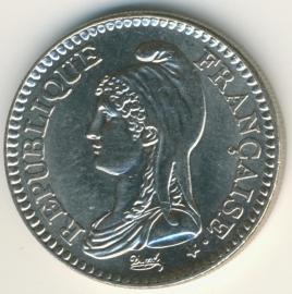 Frankrijk 1 Franc KM1004.1 1992