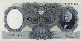 Argentinië P278 500 Pesos 1964 (No date)