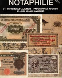 Auction catalogue Notaphilie 1998-06