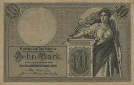 Duitsland P9 (6 cijfers) 10 Mark 1906