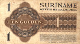 Suriname PLS14.1.e1 1 Gulden 1960