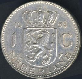 Sch.1102 Zilver 1 Gulden 1954