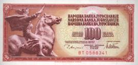 Joegoslavië P90.a 100 Dinara 1978