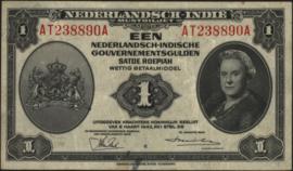 Nederlands Indië, NICA 1943 PLNI28.2 1 Gulden 1943