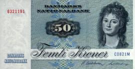 Denemarken P50.e 50 Kroner 1982