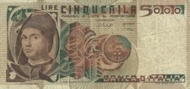 Italië P105.a 5.000 Lire 1979