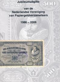 Jubileumuitgifte van de Nederlandse Vereniging van Papiergeldverzamelaars 1986-2006