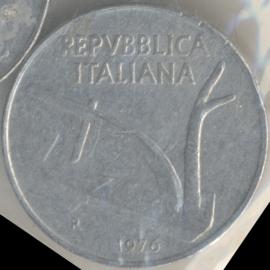 Italië KM#93 10 Lire 1976R