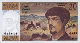 Frankrijk P151.a 20 Francs 1980-97