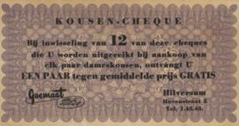 Spaarbonnen en akties  Cheque No Date