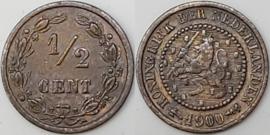 Nederland Sch.1002 1/2 Cent 1900