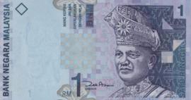 Maleisië P39.b 1 Ringgit 1998 (No date)