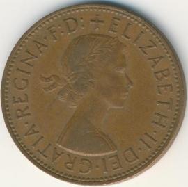 Engeland 1 PENNY 1963 KM# 897