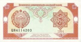 Oezbekistan P74 3 Sum 1994