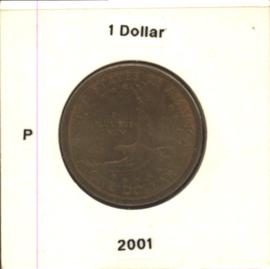 VS/USA 1 Dollar 2001 P KM310