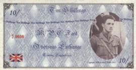 MPC Fest Overseas Exchange L/2003 0/10.- 10 Shillings 2003