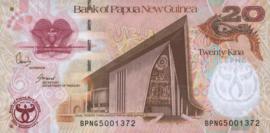 Papua Nieuw Guinea P36.a 20 Kina 2008