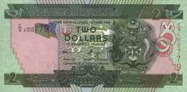 Salomonseilanden P25.b 2 Dollars 2006