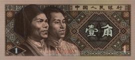 China P881.a 1 Jiao 1980