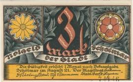 Schötmer 3 Mark 1921