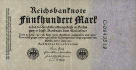 Duitsland P74 500 Mark 1922-07-07 Ros.071 DEU-82b