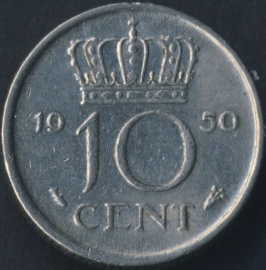 Sch. 1165 10 Cent 1950