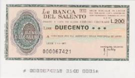 La Banca del Salento
