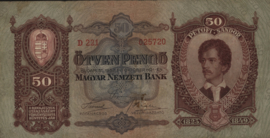 Hongarije P99 Ötven Pengo 1932